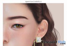 Zia Earrings October 2019 Group Gift by [spectacledchic] - Teleport Hub - teleporthub.com
