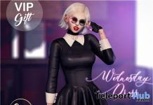 Wednesday Dress October 2019 Group Gift by Luas - Teleport Hub - teleporthub.com