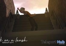Freak On A Leash Pose October 2019 Group Gift by Navajo - Teleport Hub - teleporthub.com