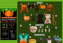 MS Design Halloween Store Hunt 2019 - Teleport Hub - teleporthub.com