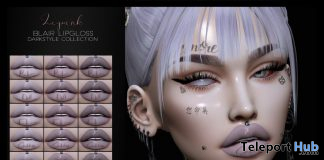 Blair Lip Gloss For Genus Mesh Head October 2019 Group Gift by LePunk - Teleport Hub - teleporthub.com