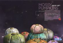 Mossy Pumpkins October 2019 Group Gift by Cubic Cherry - Teleport Hub - teleporthub.com