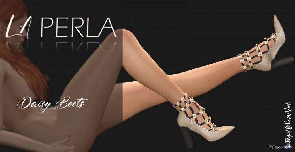 Daisy Boots 1L Promo Gift by LA PERLA - Teleport Hub - teleporthub.com