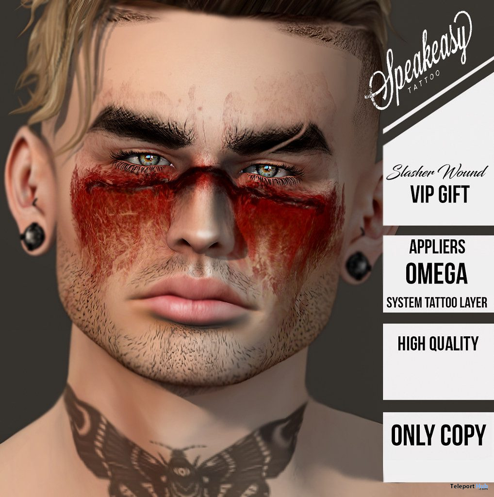 Slasher Wound Halloween 2019 Group Gift by Speakeasy - Teleport Hub - teleporthub.com