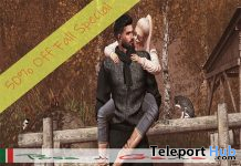 The Two of Us Couple Bento Pose 50% Promo by Posa di Gata - Teleport Hub - teleporthub.com
