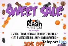 Sweet Sale 2019 @ Short Leash & ATCSL Neighborhood Stores - Teleport Hub - teleporthub.com