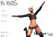 Eve Outfit Black October 2019 Group Gift by B BOS- Teleport Hub - teleporthub.com