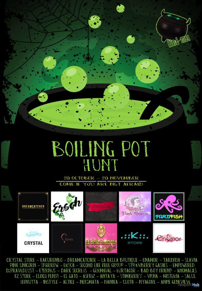 Boiling Pot Hunt 2019- Teleport Hub - teleporthub.com