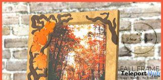 Fall Frame October 2019 Group Gift by Star Sugar- Teleport Hub - teleporthub.com