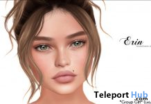 Erin Shape For LeLutka Aida Mesh Head October 2019 Group Gift by [woman] Bento Shapes - Teleport Hub - teleporthub.com