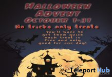 Halloween Advent 2019 - Teleport Hub - teleporthub.com