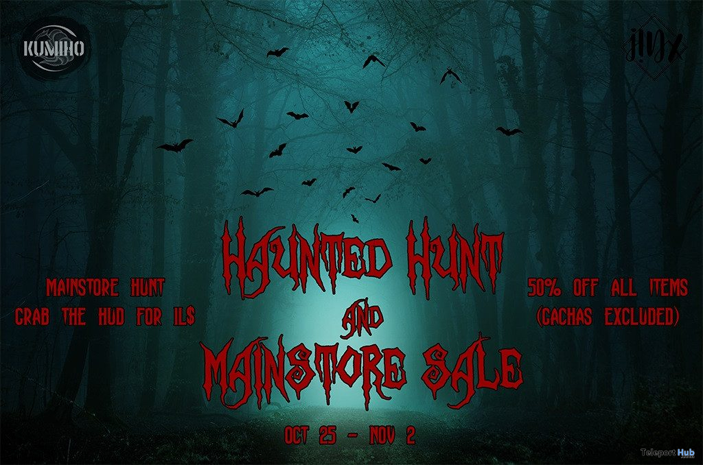 KUMIHO x j!NX Haunted Hunt & Sale 2019 - Teleport Hub - teleporthub.com