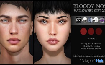 Bloody Nose Unisex Appliers September 2019 Gift by Izzie's- Teleport Hub - teleporthub.com