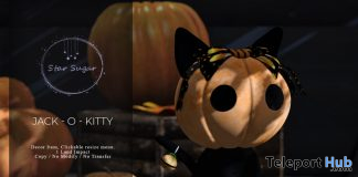 Jack-O-Kitty October 2019 Gift by Star Sugar- Teleport Hub - teleporthub.com
