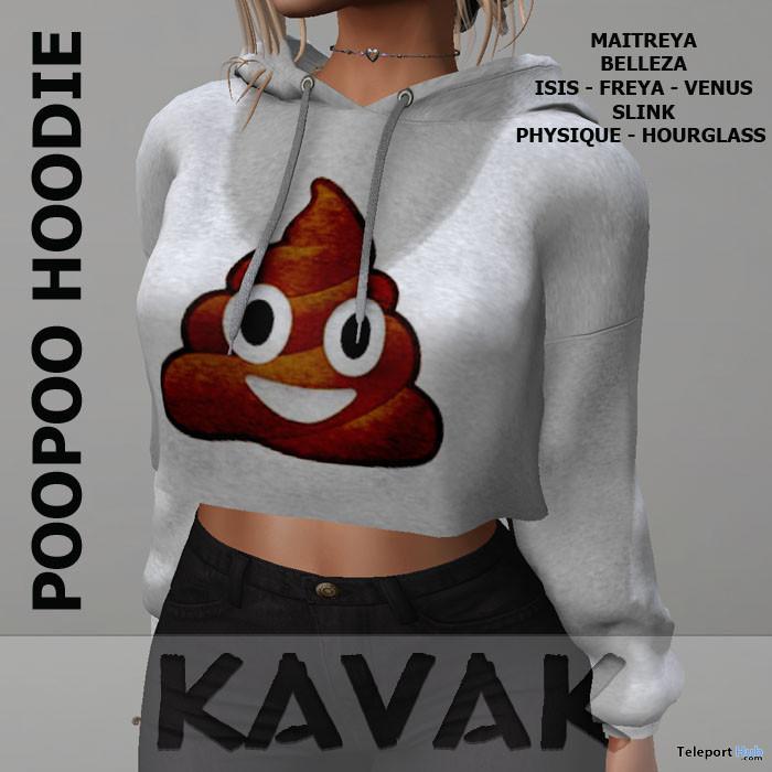 Poopoo Hoodie October 2019 Group Gift by KAVAK- Teleport Hub - teleporthub.com