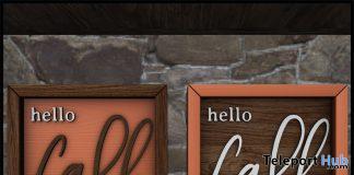 Hello Fall Frame Set October 2019 Subscriber Gift by [Krescendo]- Teleport Hub - teleporthub.com