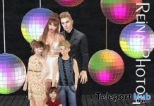Family of Four Pose FA0058 October 2019 Group Gift by Reina Photography - Teleport Hub - teleporthub.com
