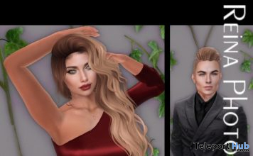 Single Pose Pack SG0057 October 2019 Gift by Reina Photography- Teleport Hub - teleporthub.com