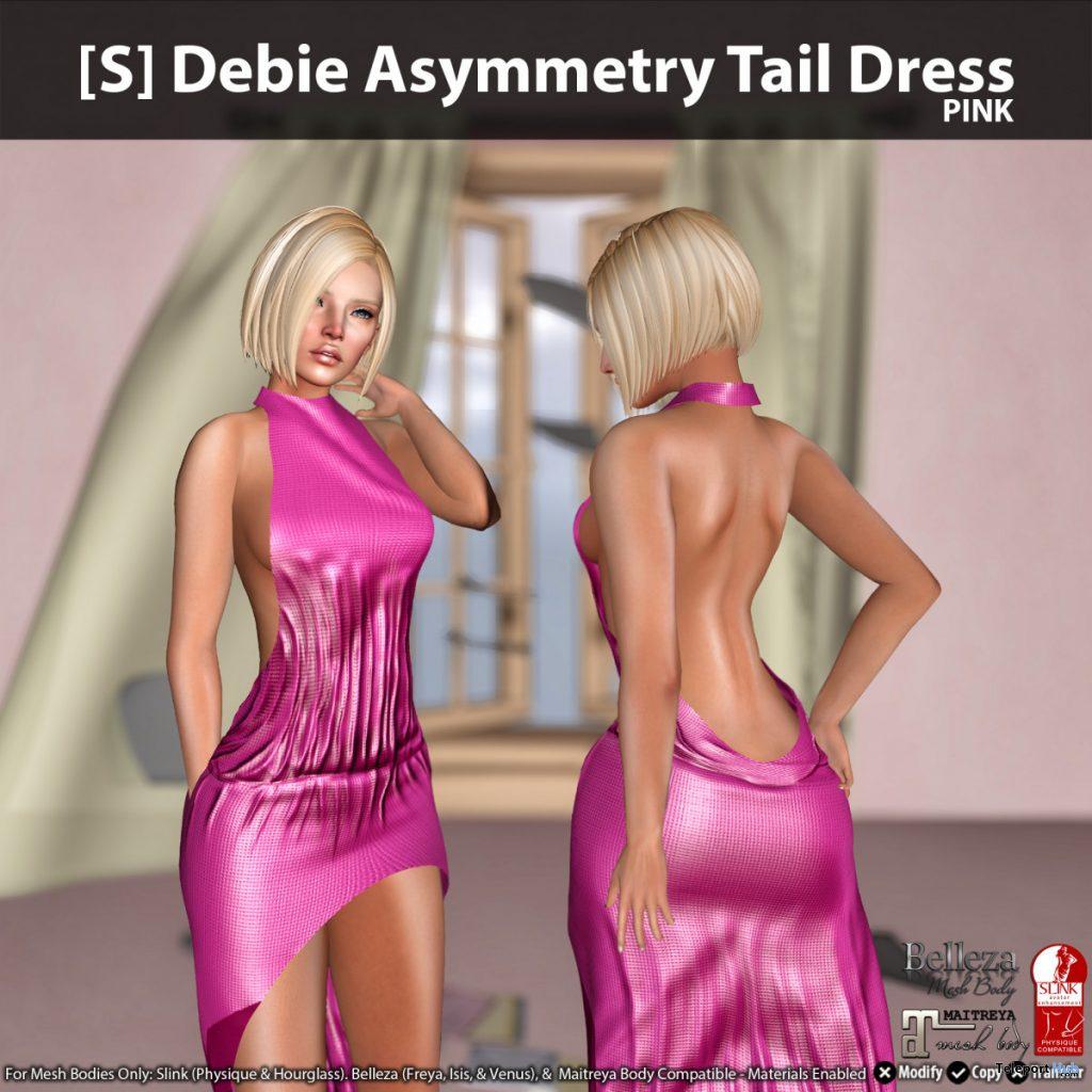 New Release: [S] Debie Asymmetry Tail Dress by [satus Inc]- Teleport Hub - teleporthub.com