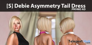 New Release: [S] Debie Asymmetry Tail Dress by [satus Inc] - Teleport Hub - teleporthub.com