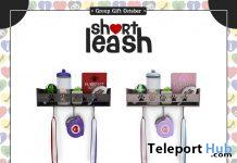 Leash & Treat Station Kitty Version October 2019 Group Gift by Short Leash - Teleport Hub - teleporthub.com