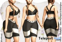 Workout Outfit October 2019 Group Gift by MONOMANIA - Teleport Hub - teleporthub.com