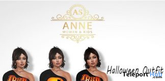 Halloween Outfit October 2019 Group Gift by Anne Store - Teleport Hub - teleporthub.com