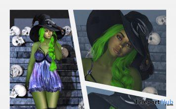 Witch 2019 Skin & Shape Pack October 2019 Group Gift by i.Evolve - Teleport Hub - teleporthub.com