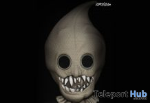 Halloween Mask October 2019 Group Gift by amias - Teleport Hub - teleporthub.com