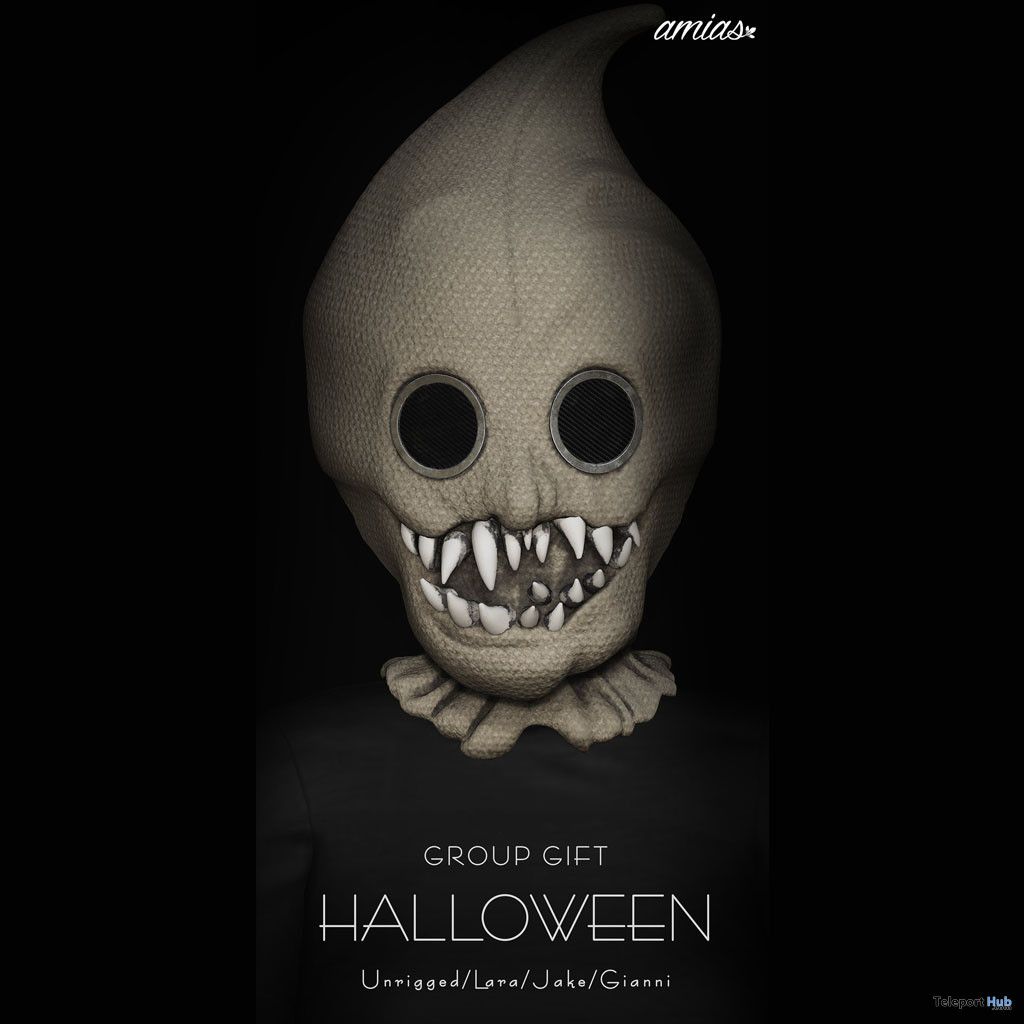 Halloween Mask October 2019 Group Gift by amias - Teleport Hub - teleporthub.com