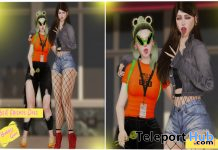 Best Friends Pose October 2019 Group Gift by Bubble Gum - Teleport Hub - teleporthub.com