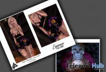 Halloween Dress & Skull Headband October 2019 Group Gift by Equinoxe - Teleport Hub - teleporthub.com