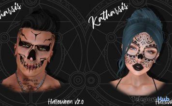 Halloween Masks V1 & V2 October 2019 Group Gift by Katharsis- Teleport Hub - teleporthub.com