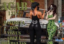 ACAB1312 Outfit Black and Camo October 2019 Group Gift by PutOn - Teleport Hub - teleporthub.com