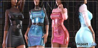 New Release: Andrey Dress by LANA @ Shiny Shabby October 2019- Teleport Hub - teleporthub.com