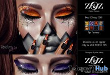 Mischief & Boo Nail Appliers October 2019 Group Gift by ZOZ- Teleport Hub - teleporthub.com