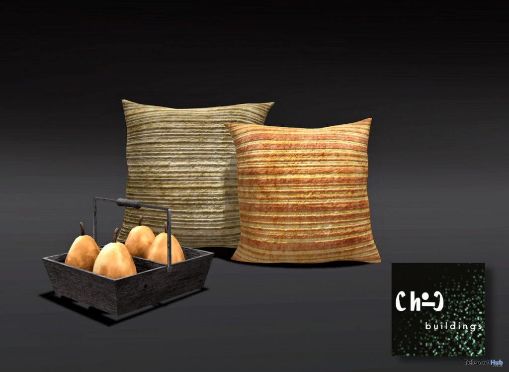 Pillows & Pears October 2019 Gift by ChiC buildings- Teleport Hub - teleporthub.com