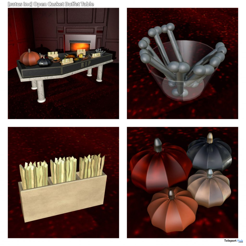 New Release: Open Casket Buffet Table by [satus Inc] - Teleport Hub - teleporthub.com