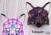 Stained Glass Fox Lamp November 2019 Group Gift by !Orphic! - Teleport Hub - teleporthub.com