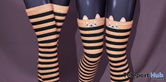 OMG Fuzzy Socks Halloween & Shiba Halloween 2019 Group Gift by Sweet Thing - Teleport Hub - teleporthub.com