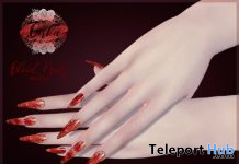 Blood Nails For Maitreya Halloween 2019 Gift by BIRKA - Teleport Hub - teleporthub.com