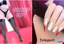 Spinner Stockings & Vlada Nails Halloween 2019 Group Gift by AVANTI - Teleport Hub - teleporthub.com