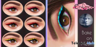 Eyeshadow Pack November 2019 Group Gift by Enamor - Teleport Hub - teleporthub.com