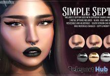 Simple Septum November 2019 Group Gift by AsteroidBox - Teleport Hub - teleporthub.com