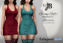 Tank Top Dress November 2019 Group Gift by Just BECAUSE - Teleport Hub - teleporthub.com