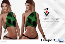 Elisa Top November 2019 Group Gift by Virtual Diva Couture - Teleport Hub - teleporthub.com