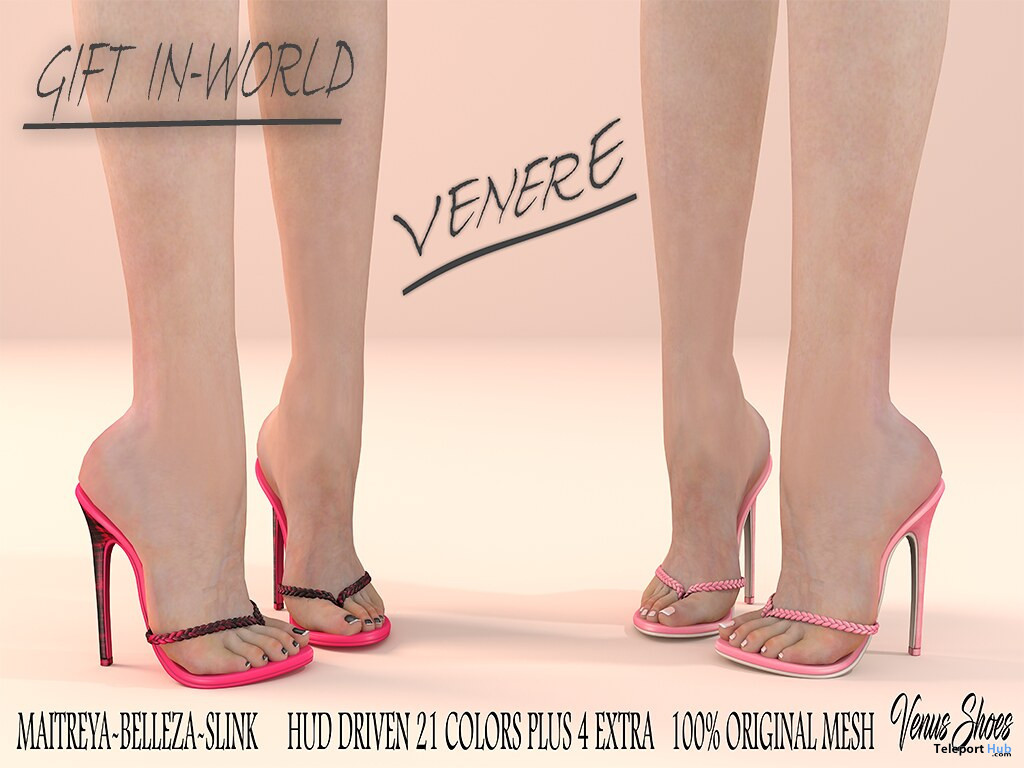 Venera Shoes Fatpack November 2019 Group Gift by VeNuS Shoes - Teleport Hub - teleporthub.com