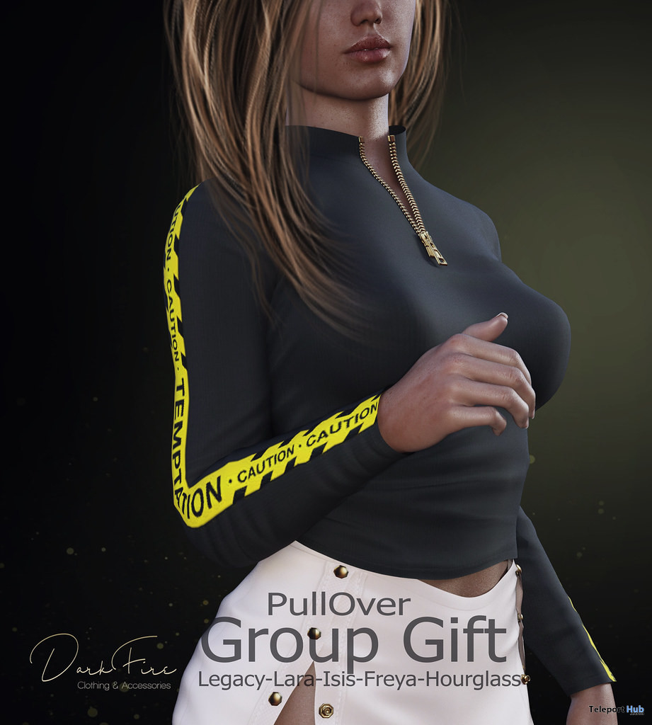 PullOver Top November 2019 Group Gift by DarkFire - Teleport Hub - teleporthub.com