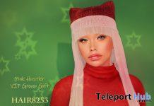 Hair 8253 December 2019 Group Gift by Pink Hustler - Teleport Hub - teleporthub.com