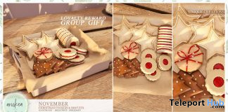 Christmas Cookies & Biscuits December 2019 Group Gift by Ariskea - Teleport Hub - teleporthub.com